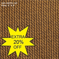 """Lincoln - Walnut"" Brown Stripe Chenille Upholstery Fabric"