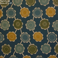"""Livia - Zephyr"" Engineered Geometric Floral Upholstery Fabric from Momentum Textiles"