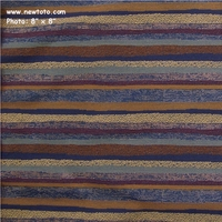 """Majolica - Bluebell"" Designer Stripe Patterned Crypton� Fabric from Pallas� Textiles"