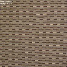 """Median - Tranquil"" Durable Chenille Stripe Upholstery Fabric from Maharam Fabric Co"