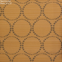 """""""Melodeon - Wheat"""" Dotted Ring Design Fabric from Momentum Textiles"""