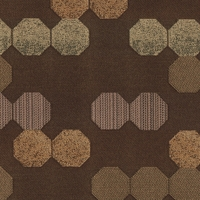 """Mensa - Turret"" Octagon Pattern Crypton� Fabric for Upholstery from Momentum Textiles"