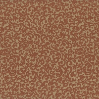 """Bitterly - Firethorne"" Classic Mini Scroll Pattern for Decor Upholstery Fabric"