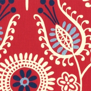 """Shine On - Americana""  Modern Floral Print for Contemporary Fabrics by Waverly"