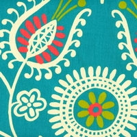 """Shine On - Spring""  Modern Floral Print  for Fresh Designer Fabrics by Waverly"