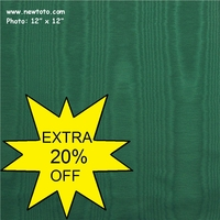 """Moire - Emerald Green"" Beautiful Home Decor Fabric"