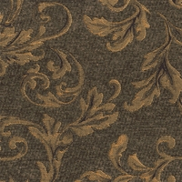 """Sherwood - Gild"" Marvelous Scroll Chenille Fabric for Furniture Upholstery"