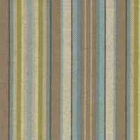 """Lucky Stripe - Creme De Mint"" Multi Stripe Home Decor Fabric Print from Waverly"