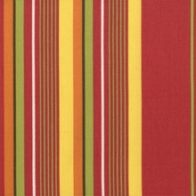 """Starburst Stripe - Desert Candy"" MutliColor Stripe Fabric by P Kaufmann Inc"