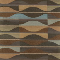 """Murano - Bay Leaf"" Geometric Stripe Fabric for Upholstery from Arc-Com Fabrics, Inc"