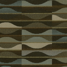 """Murano - Twilight"" Geometric Stripe Upholstery from Arc-Com Fabrics, Inc"