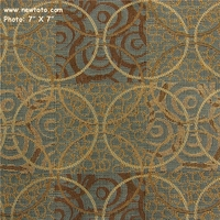 """New Dimensions - Isle"" Geometric Patchwork Crypton� Upholstery from Mayer Fabrics"