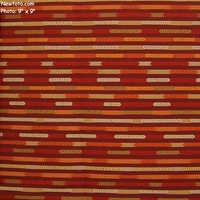 """Nexus - Blood Orange"" Colorful Stripe Design Upholstery Fabric from Designtex�"