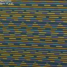 """Nexus - Kingfisher"" Colorful Stripe Design Upholstery Fabric from Designtex�"