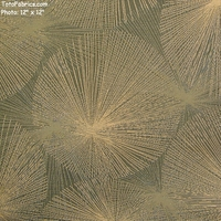 """Nova - Eucalyptus"" Sun Ray Design Fabric for Upholstery from Arc-Com Fabrics, Inc"