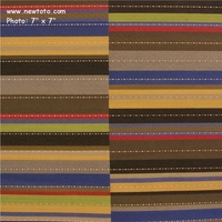 """Offset - Coast"" Geometric Stripe Upholstery from Maharam Fabric Co"