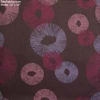 """On the Fringe - Berry"" Unique Designer Crypton� Fabric from Pallas� Textiles"