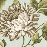 """Charlotte - Mist"" Outdoor Floral Fabric Waverly Sun N Shade� by Williamsburg"