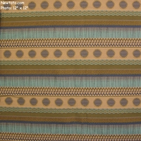 """Painted Desert - Puerco River"" Colorful Stripe Fabric for Upholstery from Anzea Textiles"