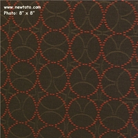 """Plait - Sequoia"" Durable Upholstery with Circle Design from Maharam Fabric Co"