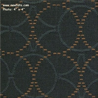 """Plait - Stormy"" Durable Upholstery with Circle Design from Maharam Fabric Co"