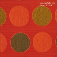 """Plural - Poppy"" Chenille Matelasse Fabric for Upholstery from Maharam Fabric Co"