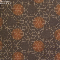 """Proximity - Alloy"" Geometric Circle Fabric for Upholstery from Momentum Textiles"