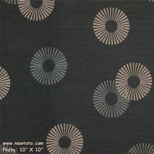"""Radiant - Deep"" Solid Upholstery Fabric with Circle Design from Maharam Fabric Co"