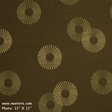 """Radiant - Tropic"" Solid Upholstery Fabric with Circle Design from Maharam Fabric Co"