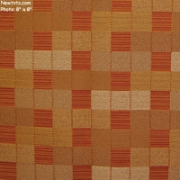 """Razzmatazz - Copper"" Square Crypton Upholstery Fabric from Mayer Fabrics"