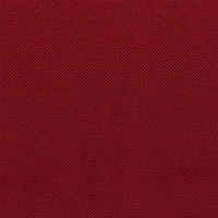 """Elevator - Scarlet"" Rich Red Herringbone Upholstery and Home Decor Fabric"