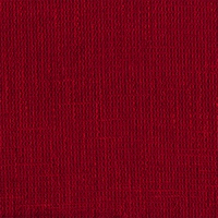 """Magic Cardinal - Red"" Solid Red Upholstery Fabric with Basket Weave Texture"