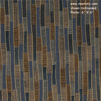 """Riviera - River"" Striped Upholstery Fabric from Arc-Com Fabrics, Inc"