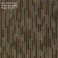 """Riviera - Slate"" Striped Upholstery Fabric from Arc-Com Fabrics, Inc"