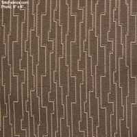 """Robotic - Ash"" Crypton Stripe Upholstery Fabric from Arc-Com Fabrics, Inc"