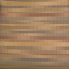 """Runner - Bluff"" Eco Friendly Stripe Dot Crypton Fabric from Maharam Fabric Co"