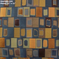 """Sagrada - Marine"" Geometric Stripe Upholstery with Rich Luster from Arc-Com Fabrics, Inc"