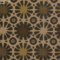 """Santa Fe Sun - Thunder Cloud"" Sunburst Patterned Upholstery Fabric from Sina Pearson Textiles"