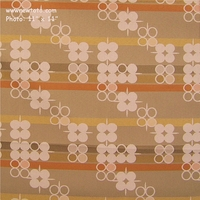 """Seeking Truth - Wheat"" Designer Circle and Stripe Fabric for Upholstery from Pallas� Textiles"