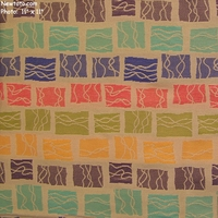"""Senna - Santa Fe"" Colorful Geometric Stripe Upholstery Fabric from Designtex�"