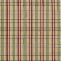 """Taffeta Check - Plum Tree"" Silk Taffeta Plaid Fabric for Decor and Drapery"