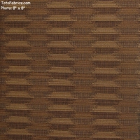 """Skip - Caramel Latte"" Two-Tone Ikat Stripe Upholstery Fabric from Pallas� Textiles"