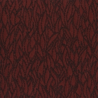 """Slapstick - Carmine"" Lustrous Flame Design Fabric for Upholstery"