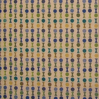 """Soiree - Celebration"" Colorful Geometric Upholstery Fabric from Knoll Textiles"