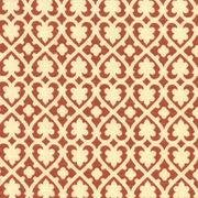 """Soulmate - Spice"" Fun Heart Lattice Print for Home Decor Fabrics by Waverly"