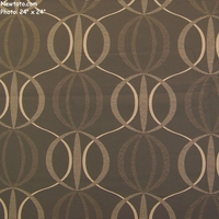 """Spyro - Smoke"" Vertical Stripe Panel Fabric from Arc-Com Fabrics, Inc"