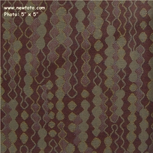 """Squiggle - Aubergine"" Geometric Striped Upholstery Fabric from CF Stinson Inc"