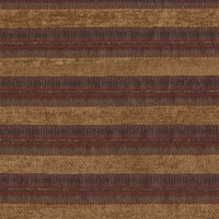 """Stanley Stripe - Falu"" Handsome Chenille Stripe Fabric for Upholstery"