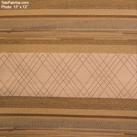 """Stereo Stripe - Olympic White"" Stripe Upholstery Upholstery Fabric from Pallas� Textiles"