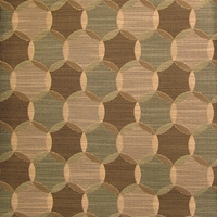 """Stratford - Seafoam"" Geometric Overlapping Circle Design Fabric from CF Stinson Inc"